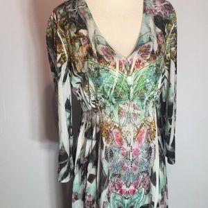 CHAGALL Dress with Sparkle  and 🦋 Butterflies M